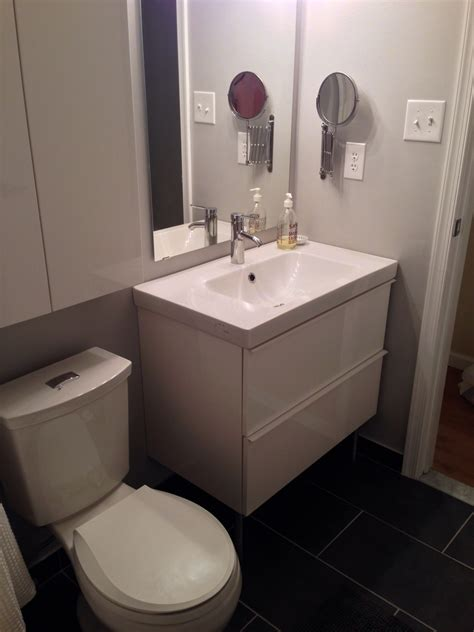 Ikea Small Sink Vanity by Bathroom Hemnes Bathroom Ikea Along With Hemnes High