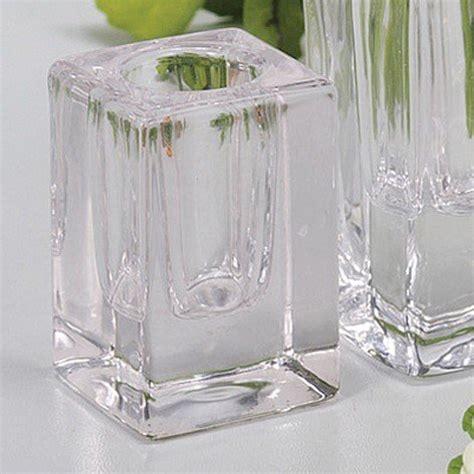 Kerzenhalter Glas Für Stabkerzen by Kerzenst 228 Nder Aus Glas Was Einkaufen De
