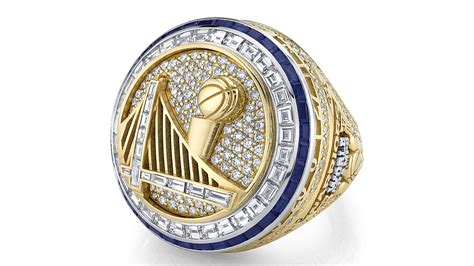 warriors unveil   nba championship rings  opening
