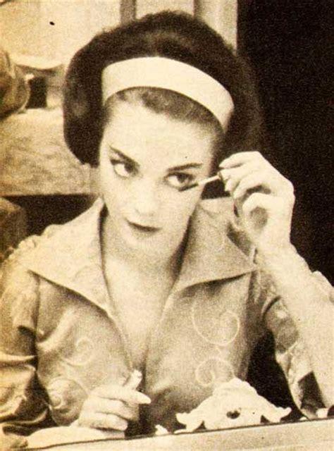 natalie woods  step  makeup routine glamourdaze