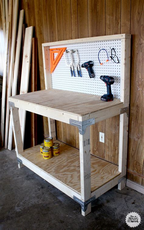 diy workbenches decorating  small space