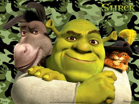 Shrek And Friends Cartoon Background Image For Nexus 6