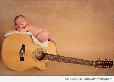 baby sleeping  gittar desicommentscom