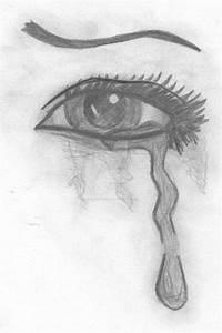 Crying eye by goldendonkey95 on DeviantArt