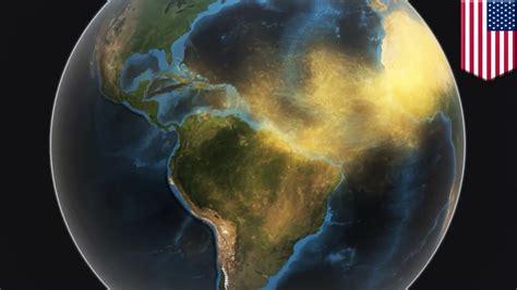 nasa animation shows  dust   sahara desert