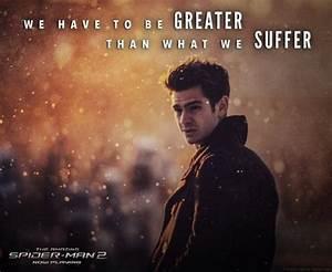 Peter Parker, A... Peter Parker Father Quotes