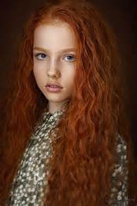 Long Red Hairstyles for Naturally Curly Hair