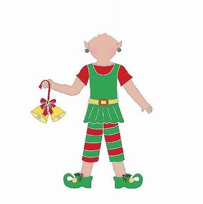 Elf Clipart Transparent Christmas Fill Blank Webstockreview