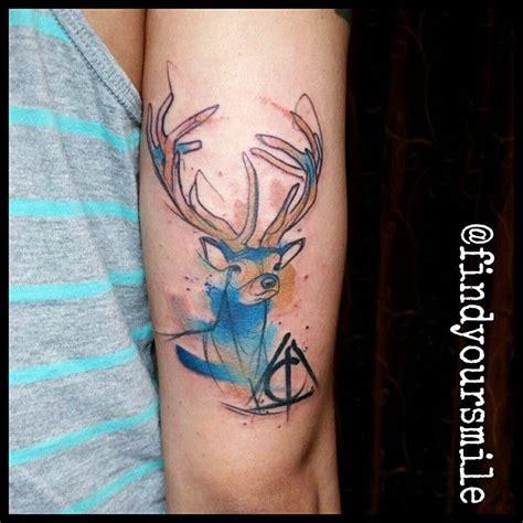 potter watercolor tatouages tattoos geek