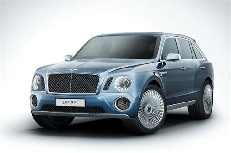 Bentley Exp 9 F Interieur