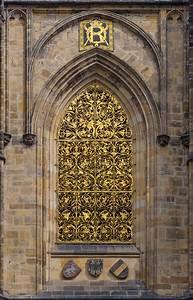 filecathedrale saint guy prague facade sud fenetre grille With grille porte fenetre