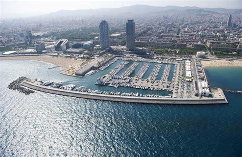 porto di barcellona dintorni barcellona il porto olimpico di barcellona