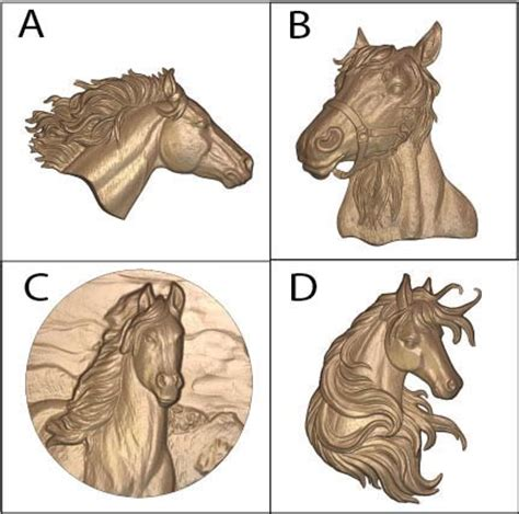 horse wood carving patterns gallery