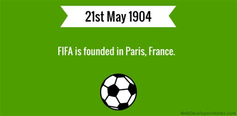fifa founded