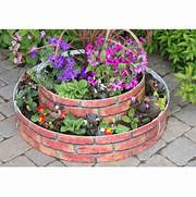 GrowRings 2 Tier 5 Panel Pack Raised Flower Bed Red Brick Next Pinterest The World S Catalog Of Ideas House Brick Pathway Raised Beds Flowers And Vegetables Coldframe How To Build And Plant A Reclaimed Brick Raised Bed With Springtime