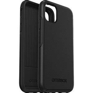 otterbox symmetry iphone  pro hoesje zwart appelhoes