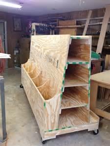 Lumber Cart Storage Rack Plans