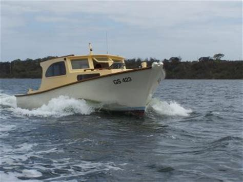 Fishing Boat Hire Paynesville by Wooden Boats Gippsland Lakes