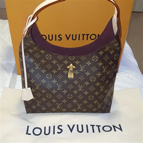 louis vuitton flower monogram hobo bag tradesy