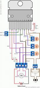 Raspberry Pi Motor Controller L6203 Circuit