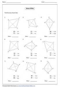 circumference and area of a circle worksheet quadrilateral worksheets