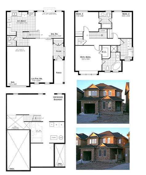 homes plans our house