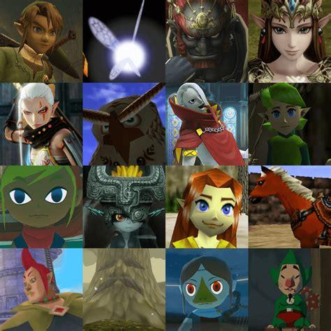 The Legend Of Zelda Character Blitz Quiz By Thebiguglyalien