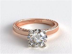 13 best designs for rose gold engagement rings with pictures With rose colored wedding rings