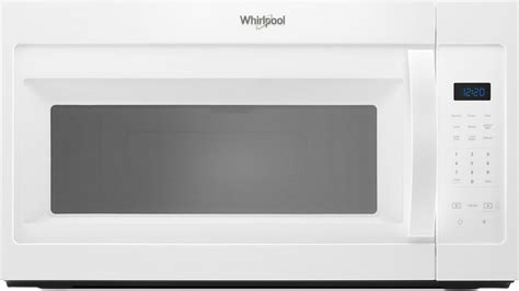wmhhw whirlpool  cu ft   range microwave vent white