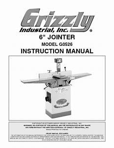 G0526 Manuals