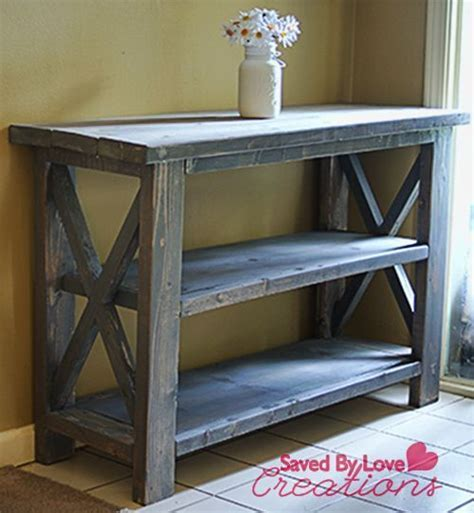 Make a Custom Console Table   Hometalk