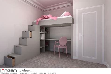 chambre fille lit mezzanine chambre mezzanine adulte meilleures images d 39 inspiration