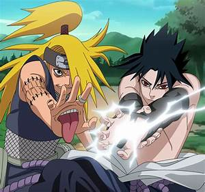 Deidara vs. Sasuke - Naruto Shippuuden Photo (18622806 ...