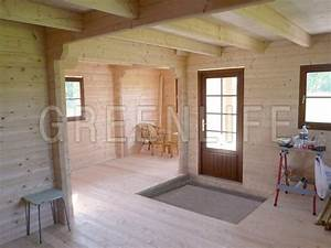 emejing interieur chalet en bois contemporary design With prix maison en rondin 3 chalet en bois rondin en kit mzaol