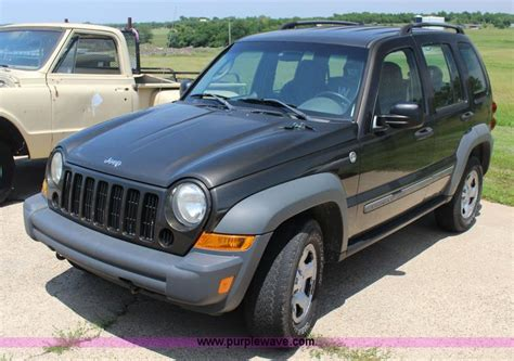 purple jeep liberty 2005 jeep liberty suv no reserve auction on tuesday