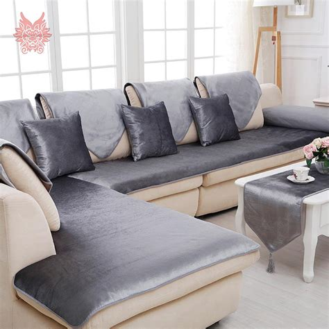 Black Sofa Covers Cheap by Aliexpress Buy Free Shipping Grey Camel Black