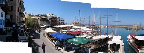 Cyprus North Kyrenia coastal