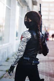 Bucky Barnes Winter Soldier Cosplay