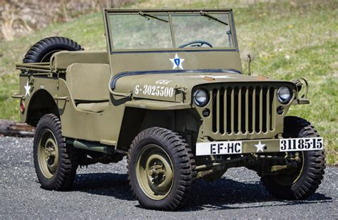 WWII Jeep 'found in crate' set to cross Greenwich auction