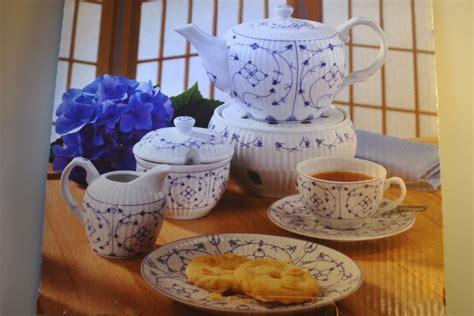 indisch blau porzellan teeservice indisch blau teegeschirr geschirr porzellan ebay