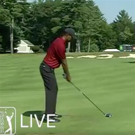 Watch Tiger Woods hit rare driver off the deck during ...