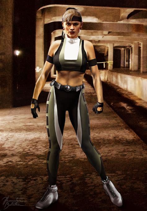 Pre Mortal Kombat 3 Sonya Blade By Jhonatasbatalha On