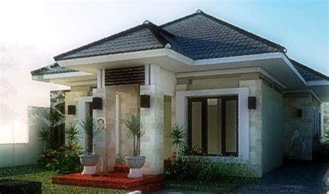 desain rumah satu lantai rumah desain minimalis