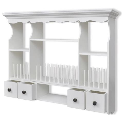 wall shelves for kitchen storage new white wooden kitchen wall cabinet cupboard storage 8886