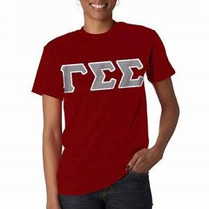 gamma sigma sigma twill items something greek With sorority twill letter shirts