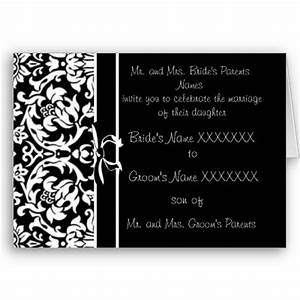 wedding themes wedding style black and white wedding With images of black and white wedding invitations