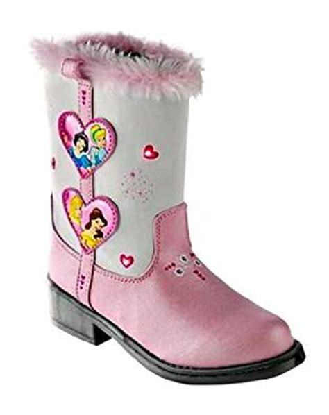 Toddler Light Up Boots by Disney Princess Sz 10 Toddler Light Up