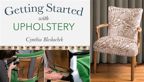 Free Upholstery Classes by Getting Started With Upholstery Class To Sew