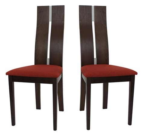 chaise wengé 2 chaises cassidy wenge et chaise topkoo