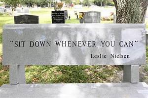 Leslie Nielsen Pictures - Leslie Nielsen's Grave Marker ...